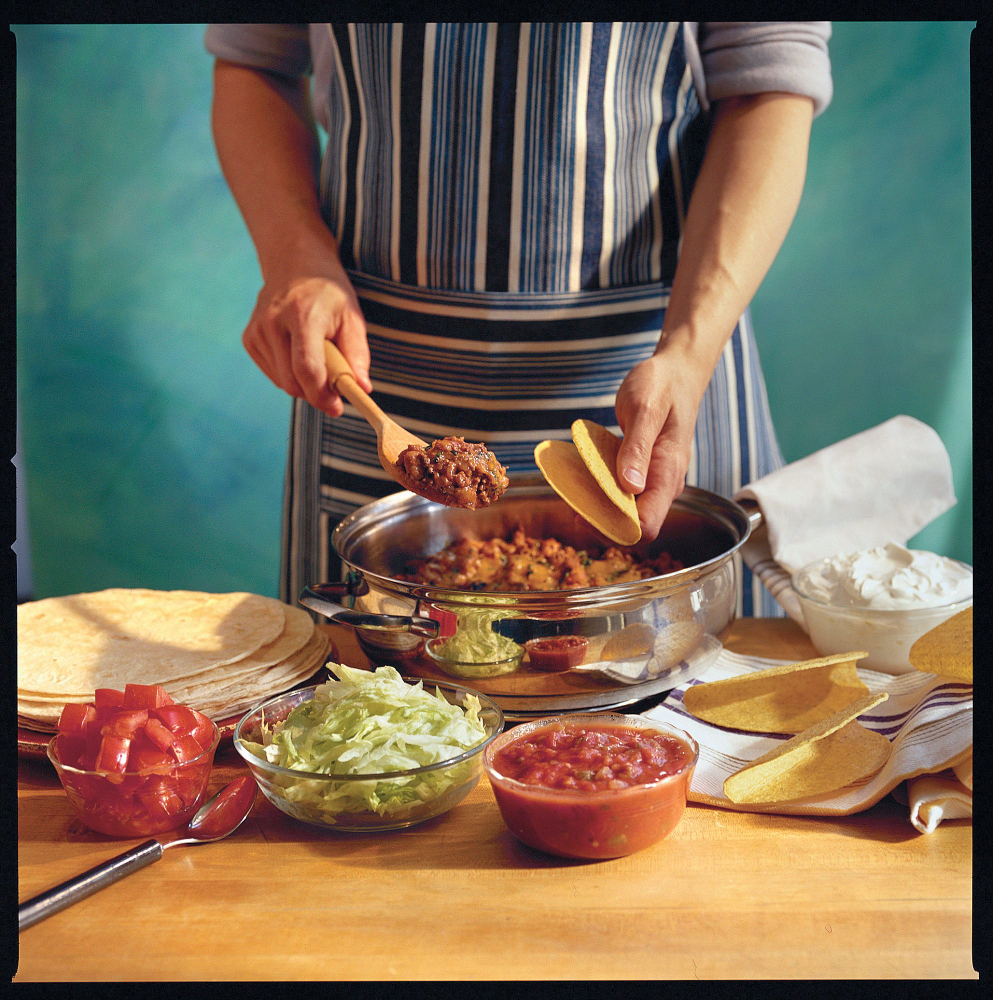 Ground Beef Recipes: Easy Skillet Tacos