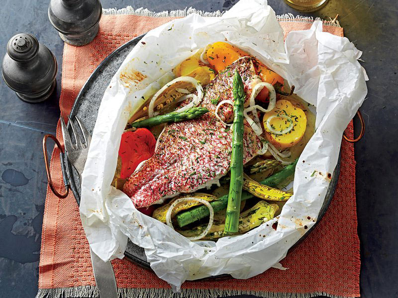 Parchment Packet Recipes That Make Weeknight Dinners a Breeze