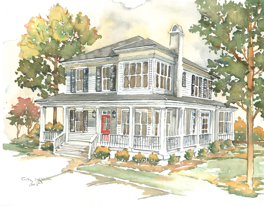 Corner the market southern living house plan southern for Southern living plans