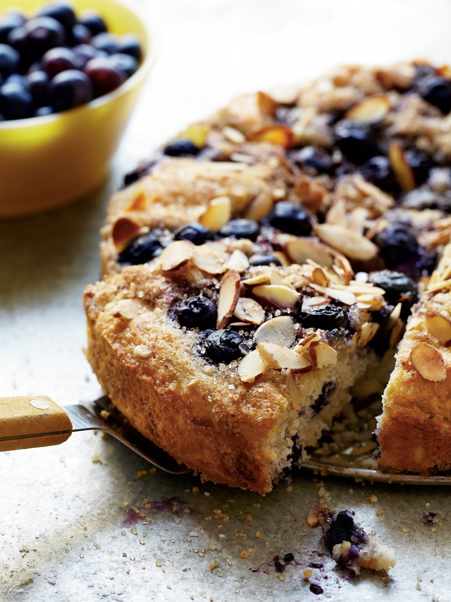 Brunch for a Crowd Blueberry Coffee Cake