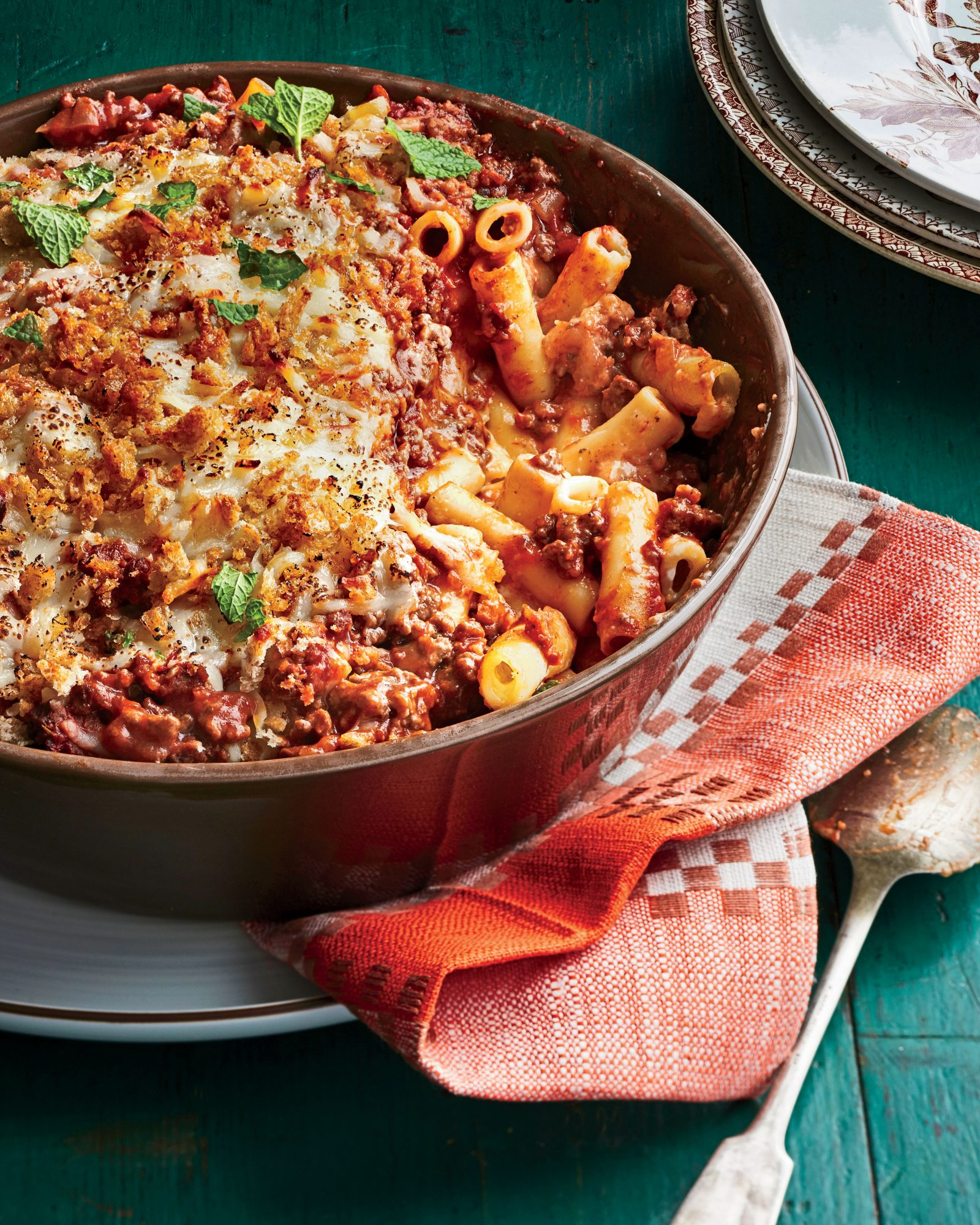 Greek Baked Ziti