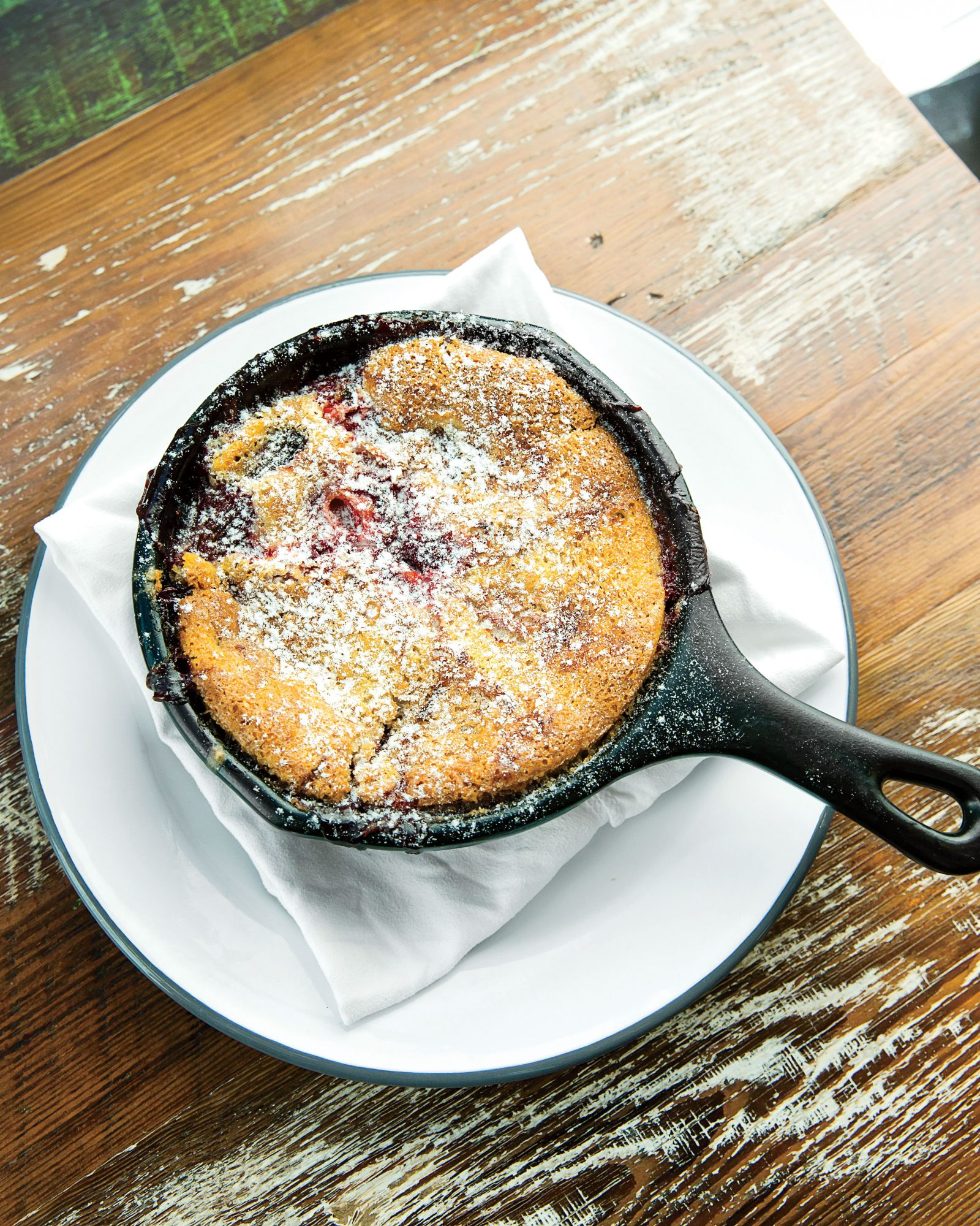 Kelly Fields' Blackberry-and-Bourbon Cobbler