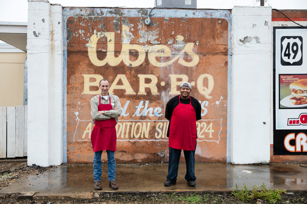 Abe's BBQ in Clarksdale, Mississippi
