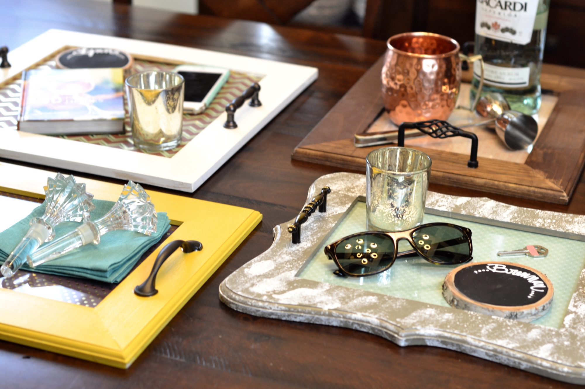 Diy coffee table trays southern living diy coffee table traysg geotapseo Images