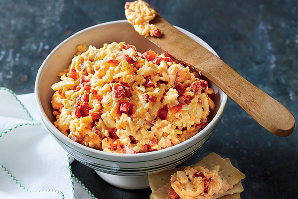 Southern Living Classic Pimiento Cheese; Photo: Hector Sanchez