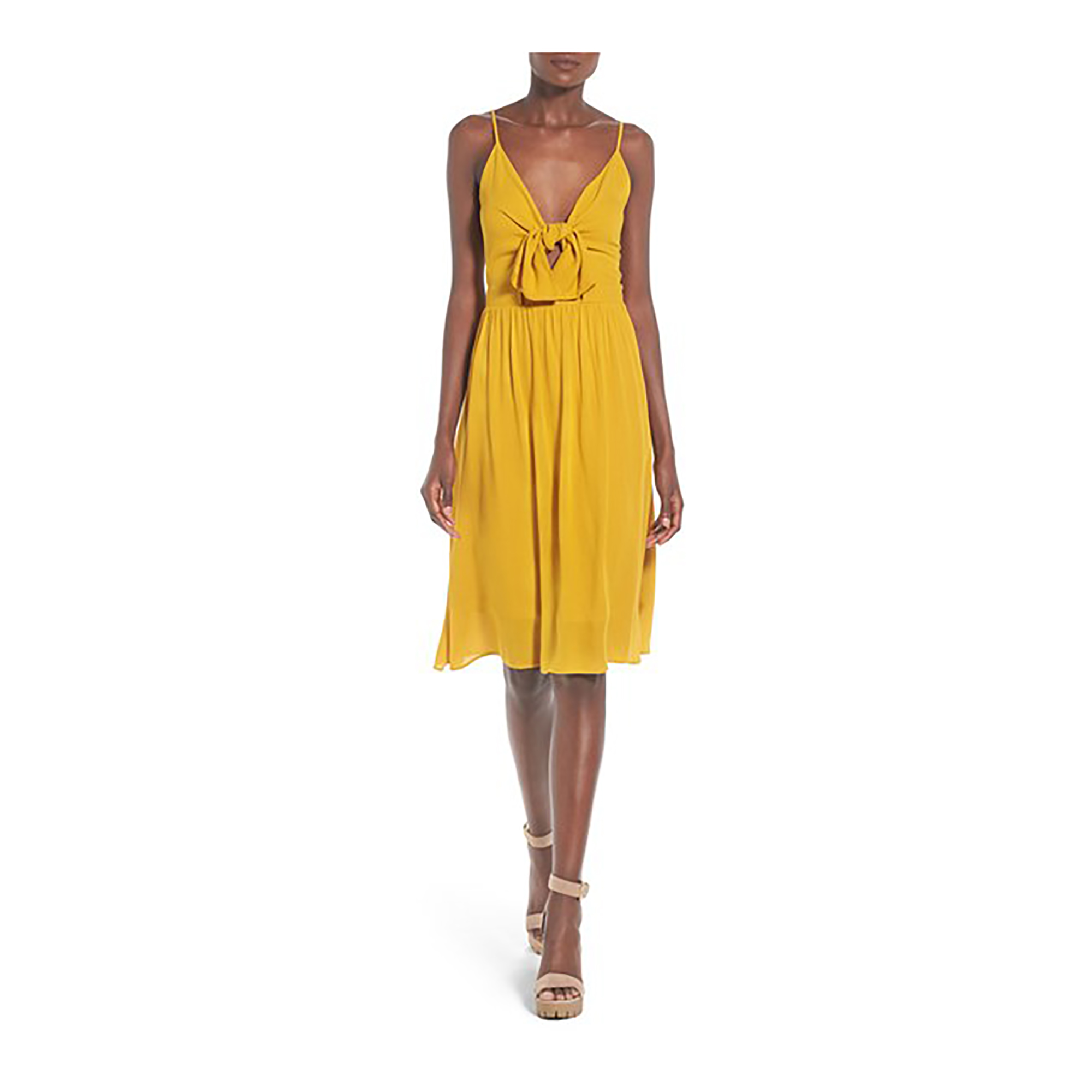 Leith Tie Front Dress