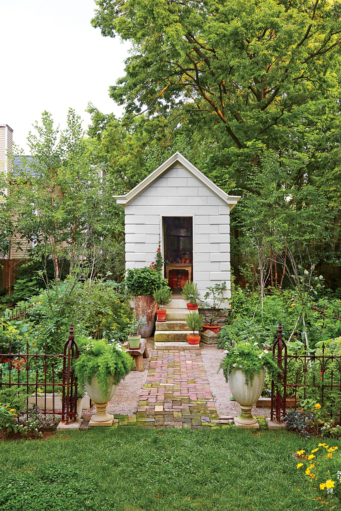Backyard Garden Toolshed