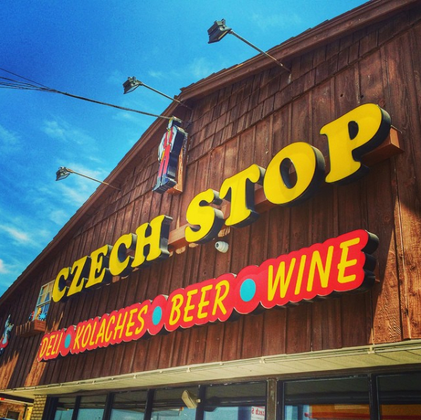 Czech Stop in West, Texas