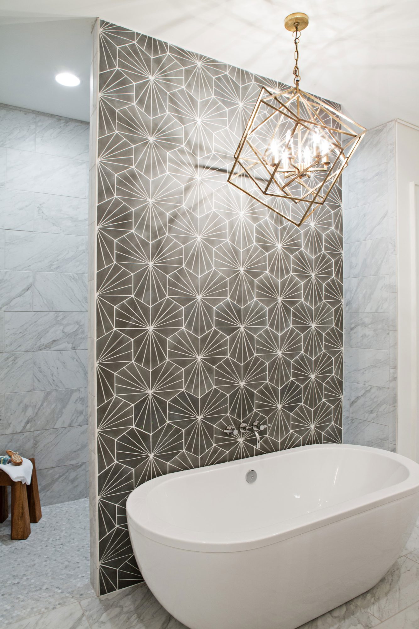 Southern Living Inspired Home at Hampstead Master Bath