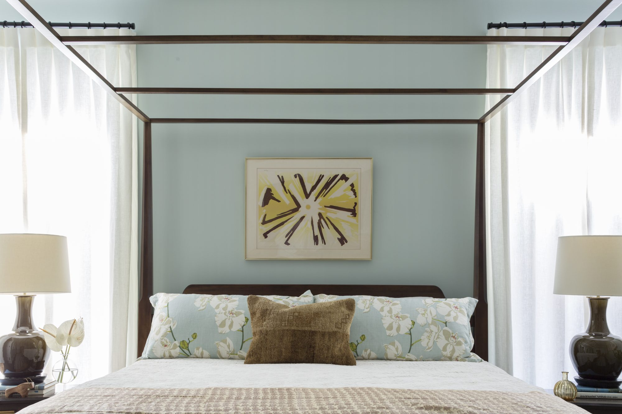 Master Bed in Kiawah Home