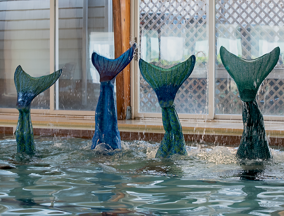 Mermaid School Tails