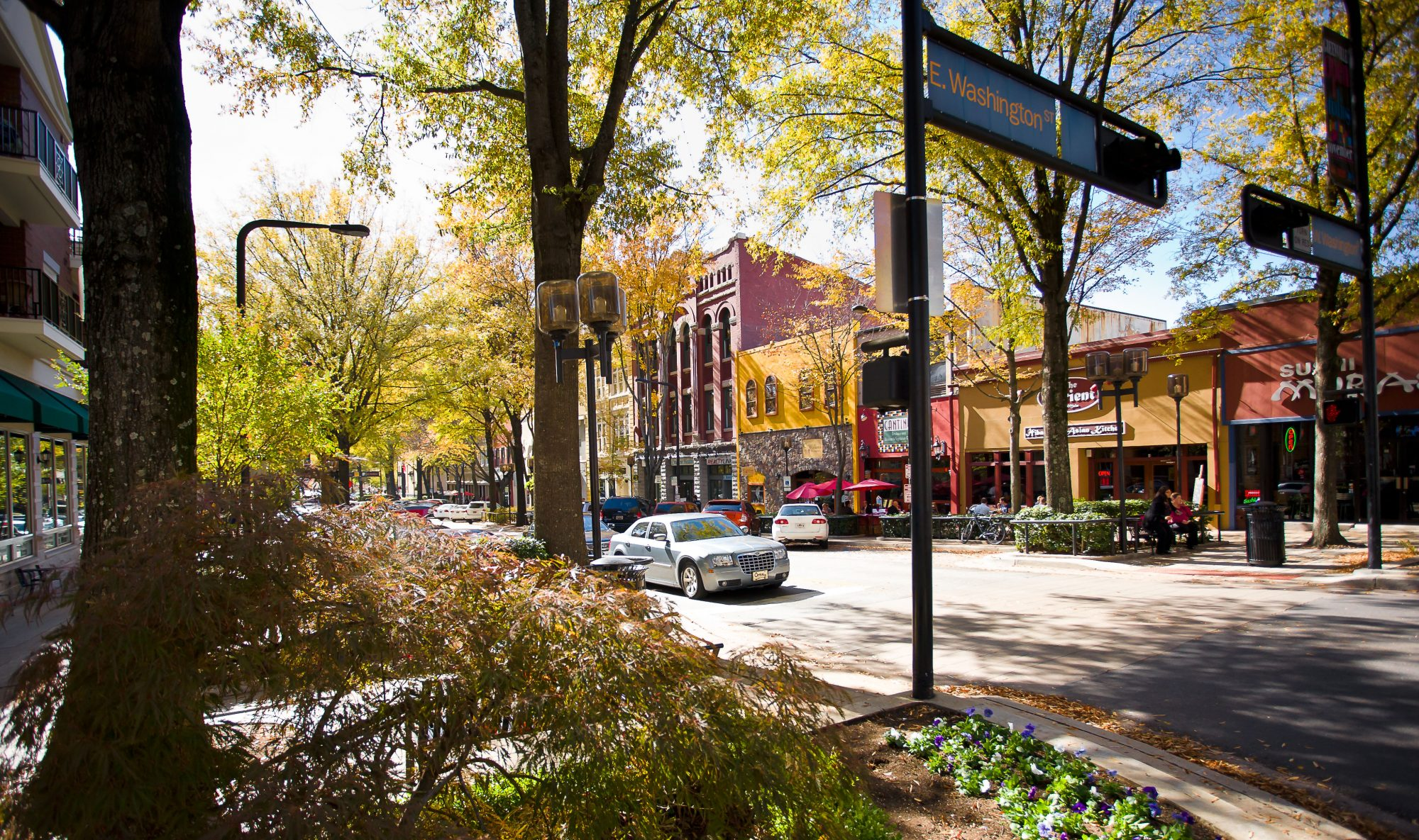 Dowtown Greenville, SC