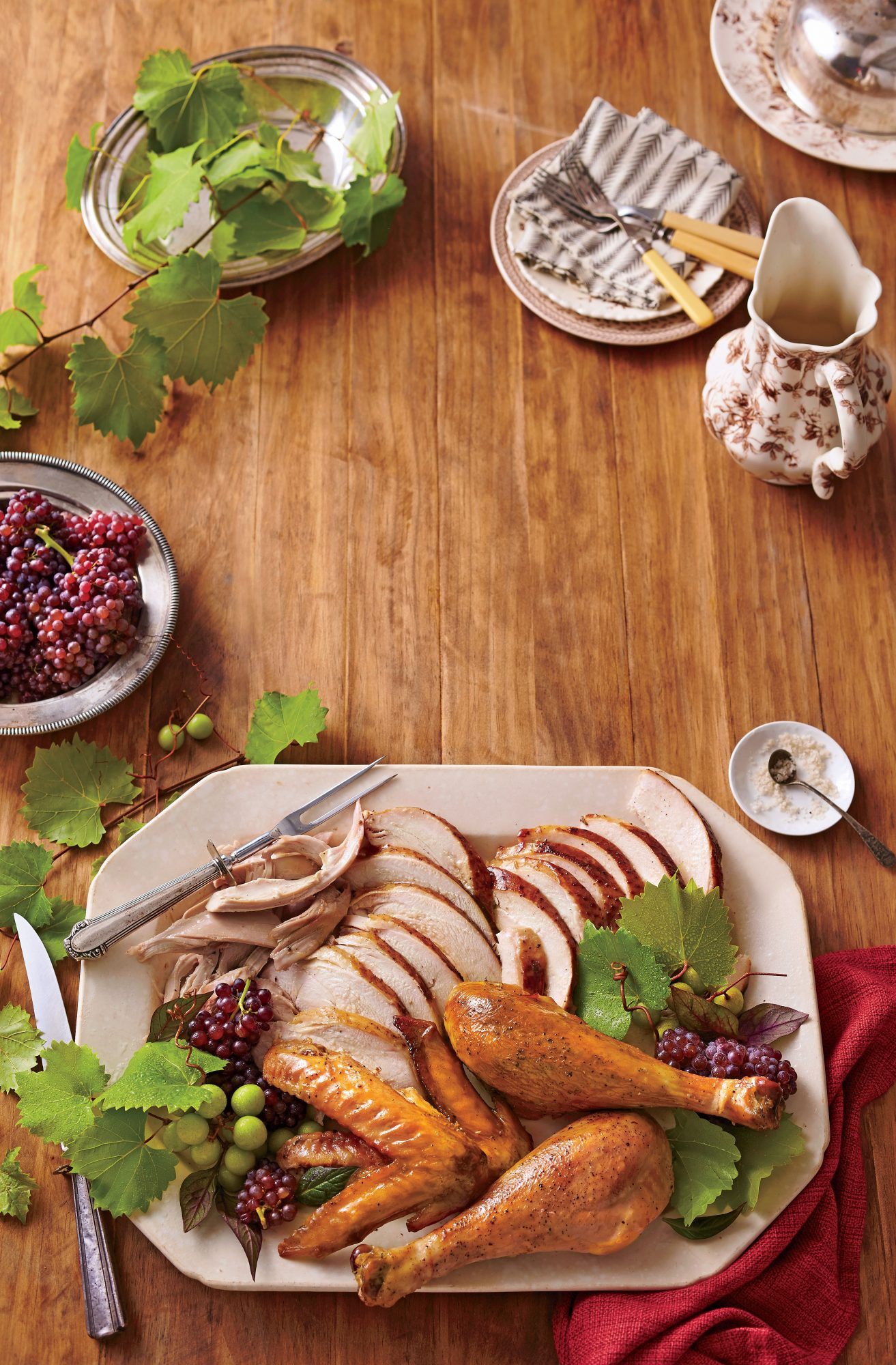 Smoked Self-Basting Turkey Recipe
