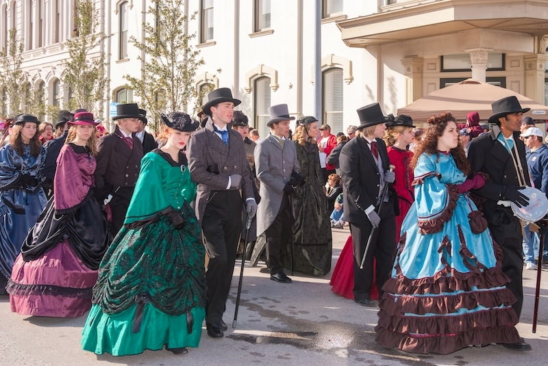 Dickens on the Strand Galveston