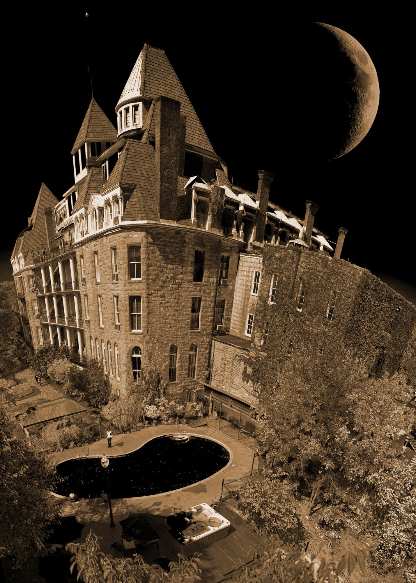 Most Haunted Places Crescent Hotel