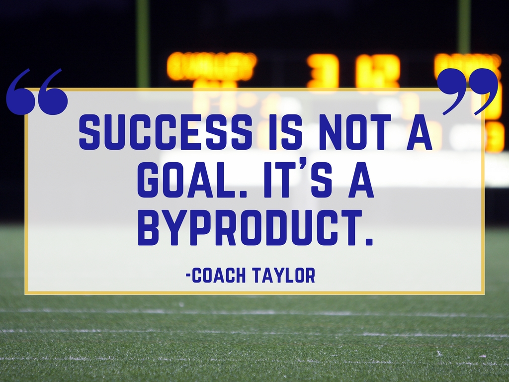 Coach Taylor on Success