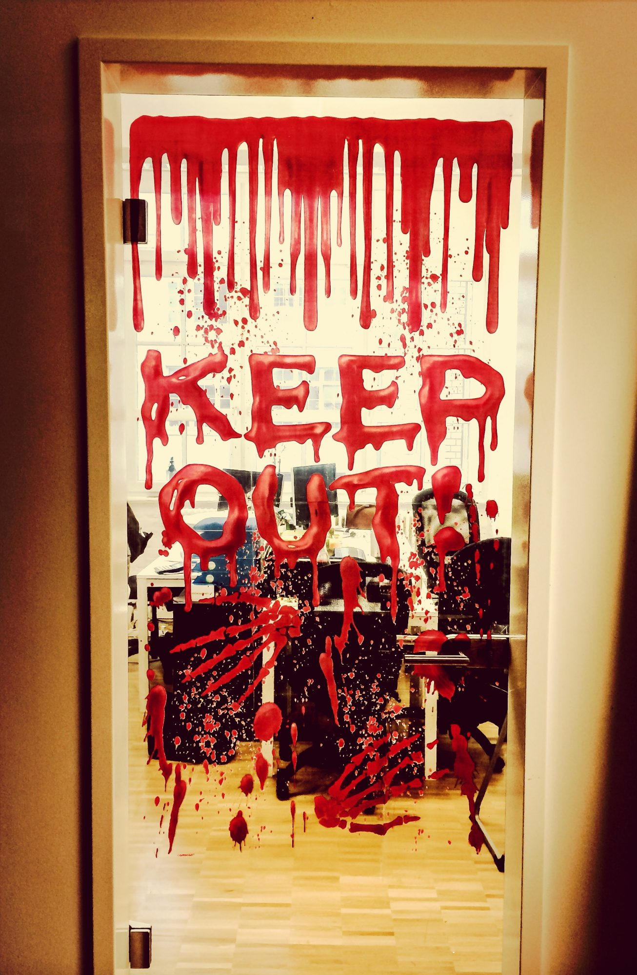 Halloween Keep Out