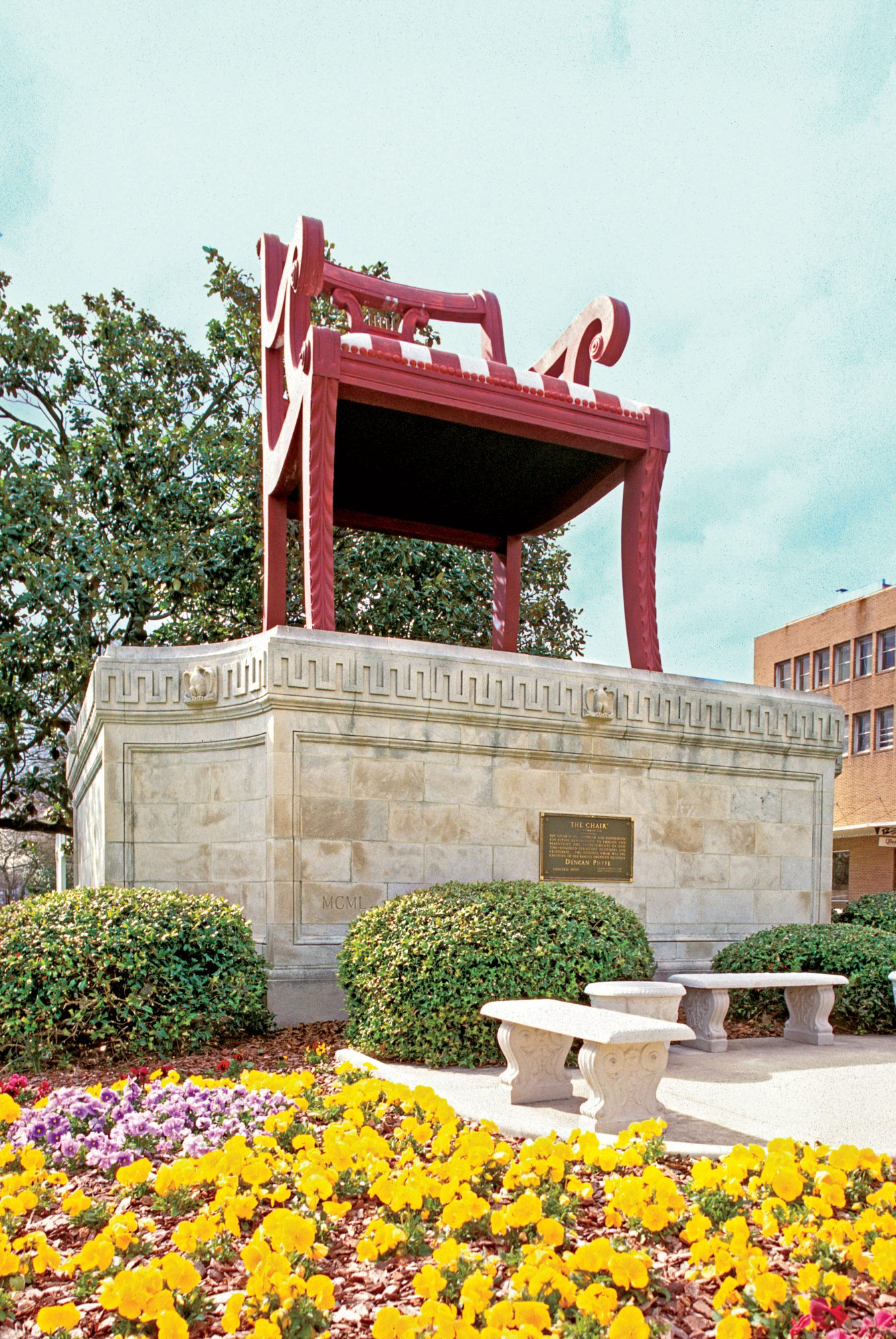 World's Largest Chair in Thomasville, NC