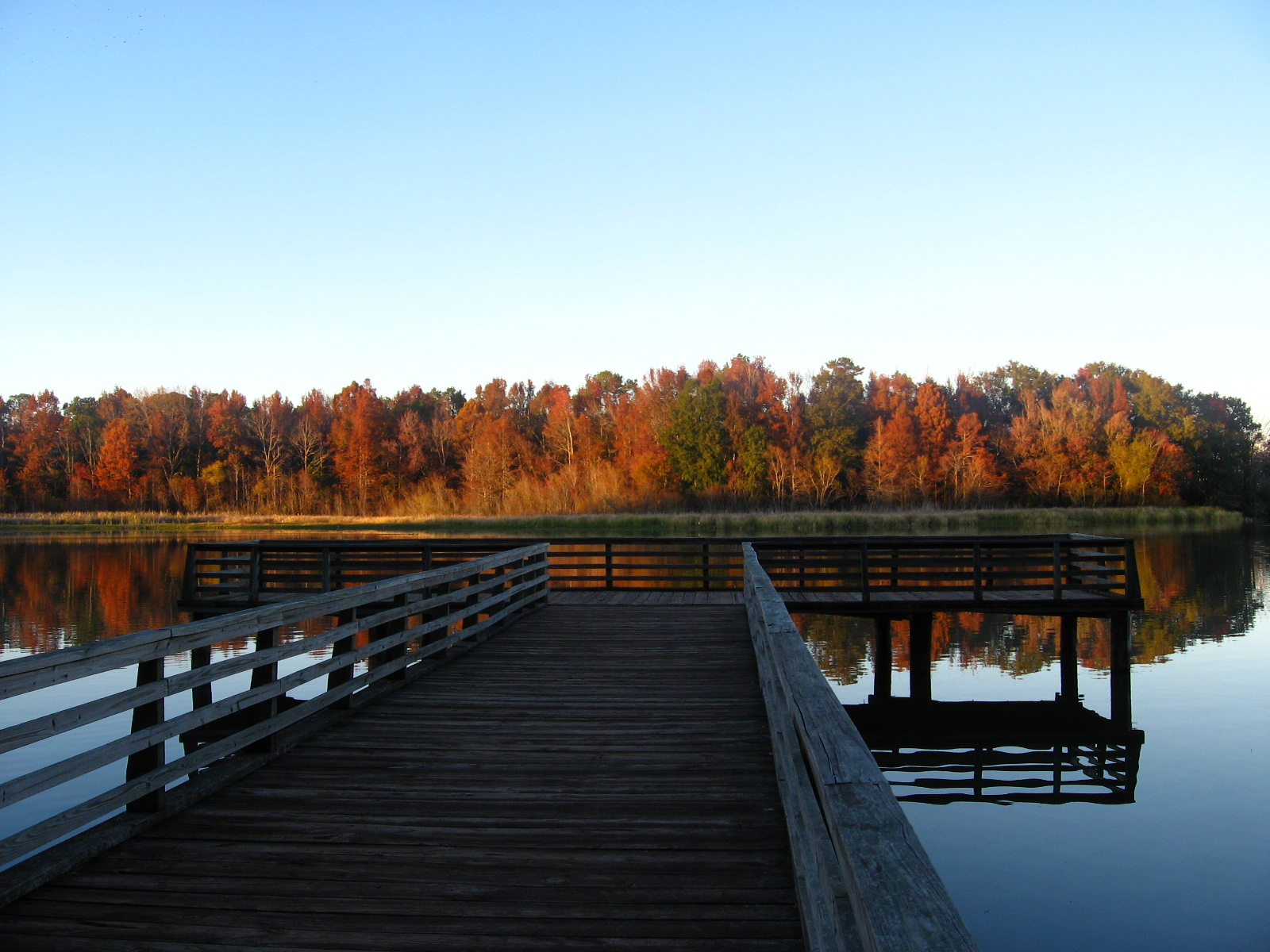 Three Rivers State Park Fall Color