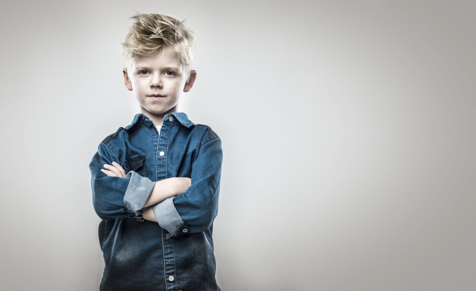 boy with arms crossed