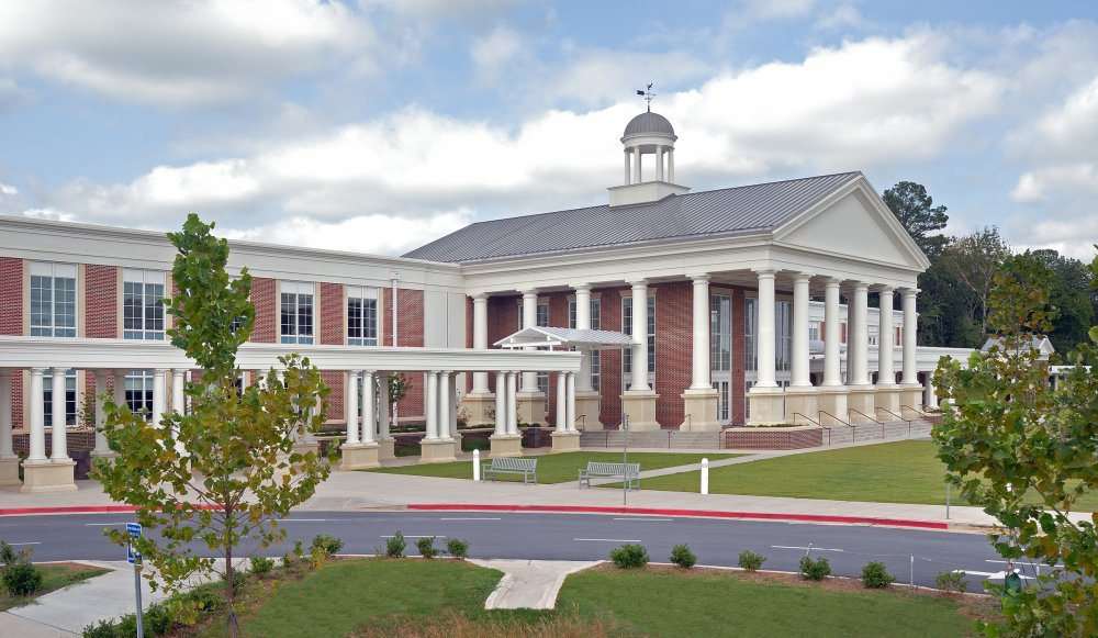 Milton High School in Alpharetta, Georgia
