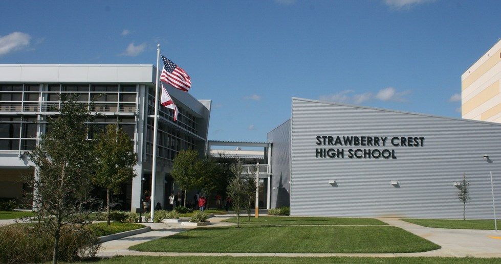Strawberry Crest High School in Dover, Florida