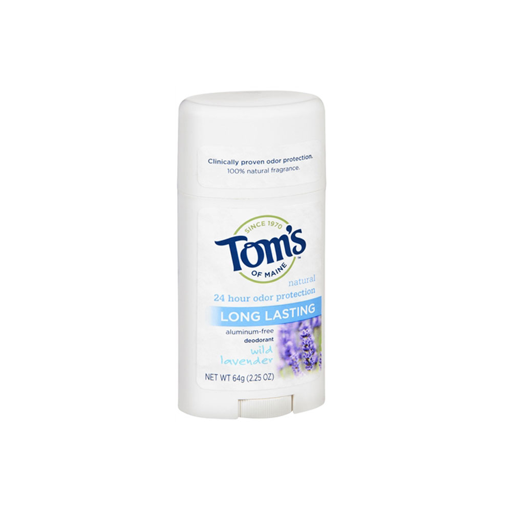 Tom's of Maine Natural Long Lasting Natural Deodorant, Lavender