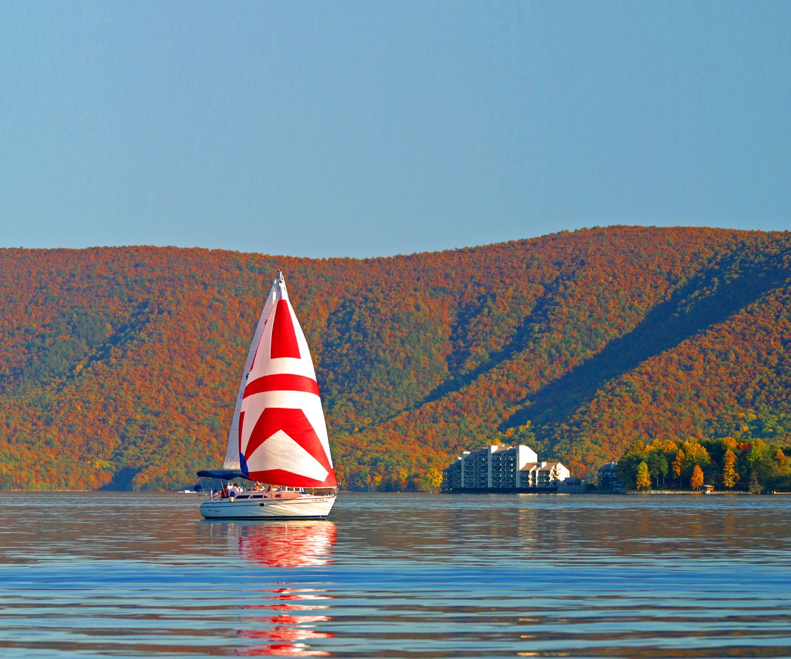 Smith Mountain Lake Fall Color