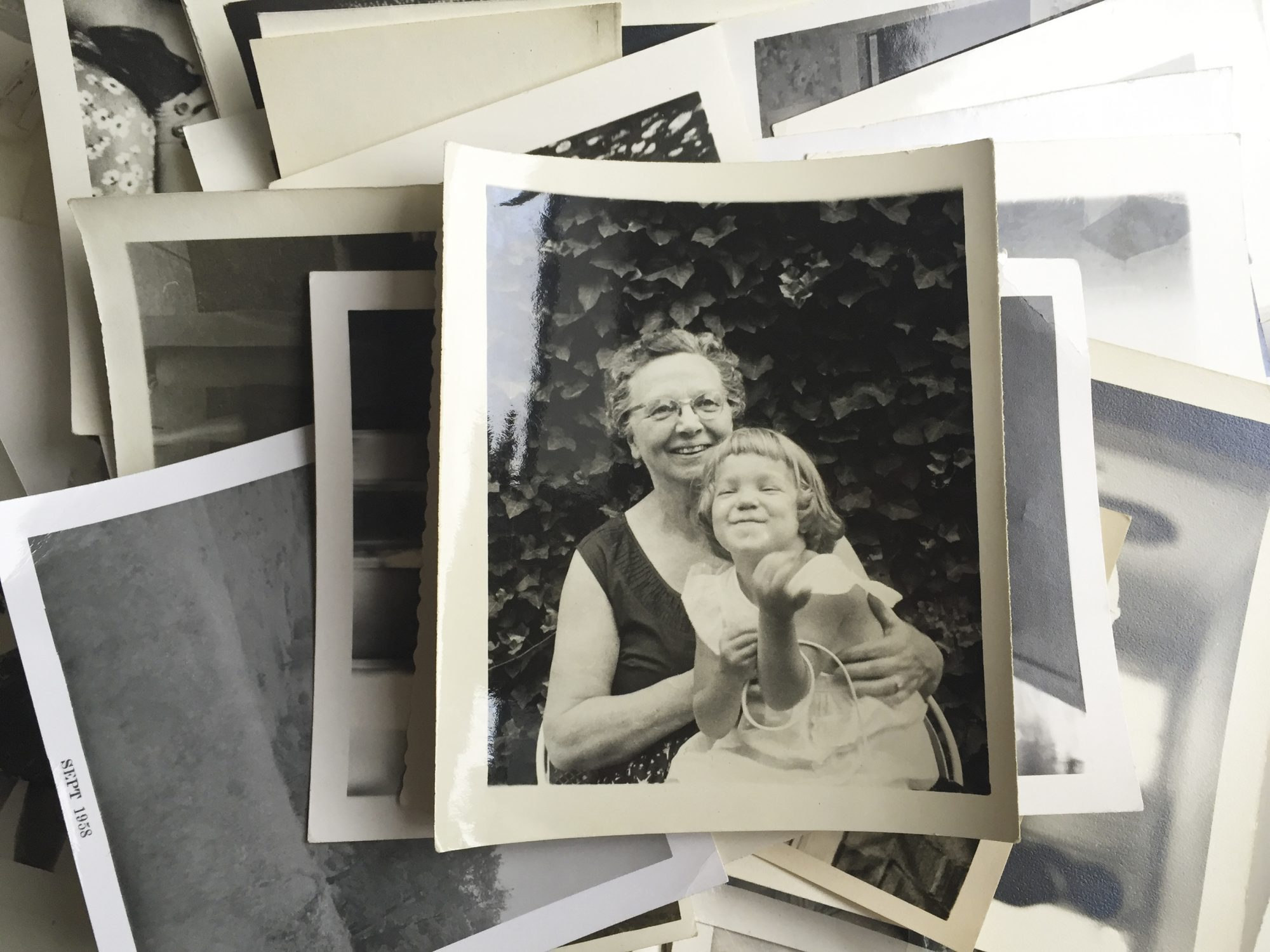 Stack of Vintage Photos