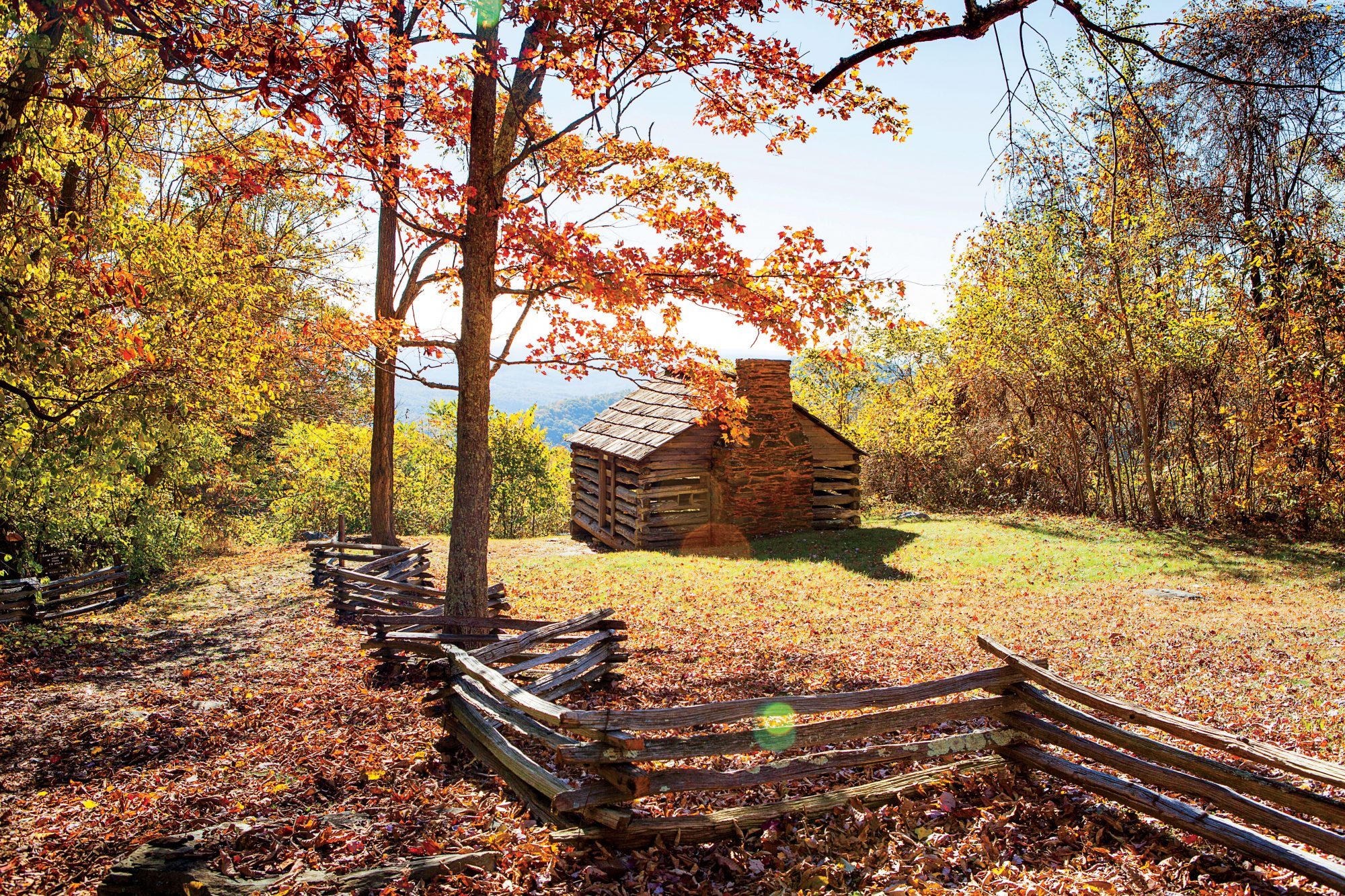T.T. Trail cabin at Smart View Overlook