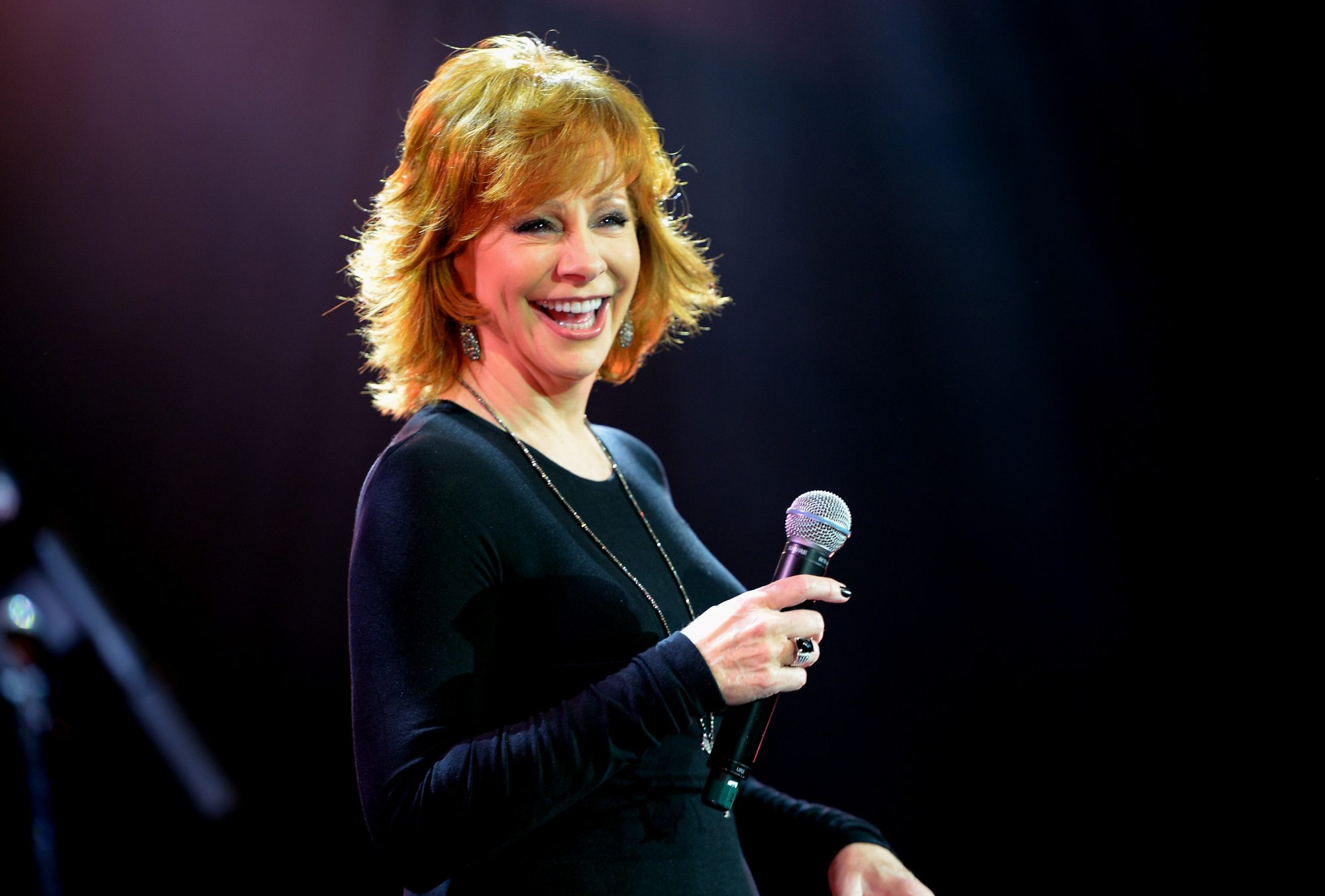 Reba McEntire at Muhammed Ali's Celeb Fight Night