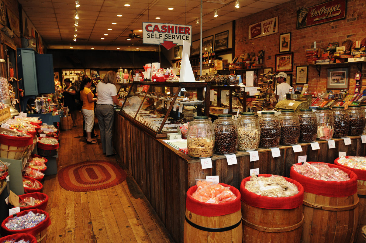The Candy Factory: Lexington, North Carolina