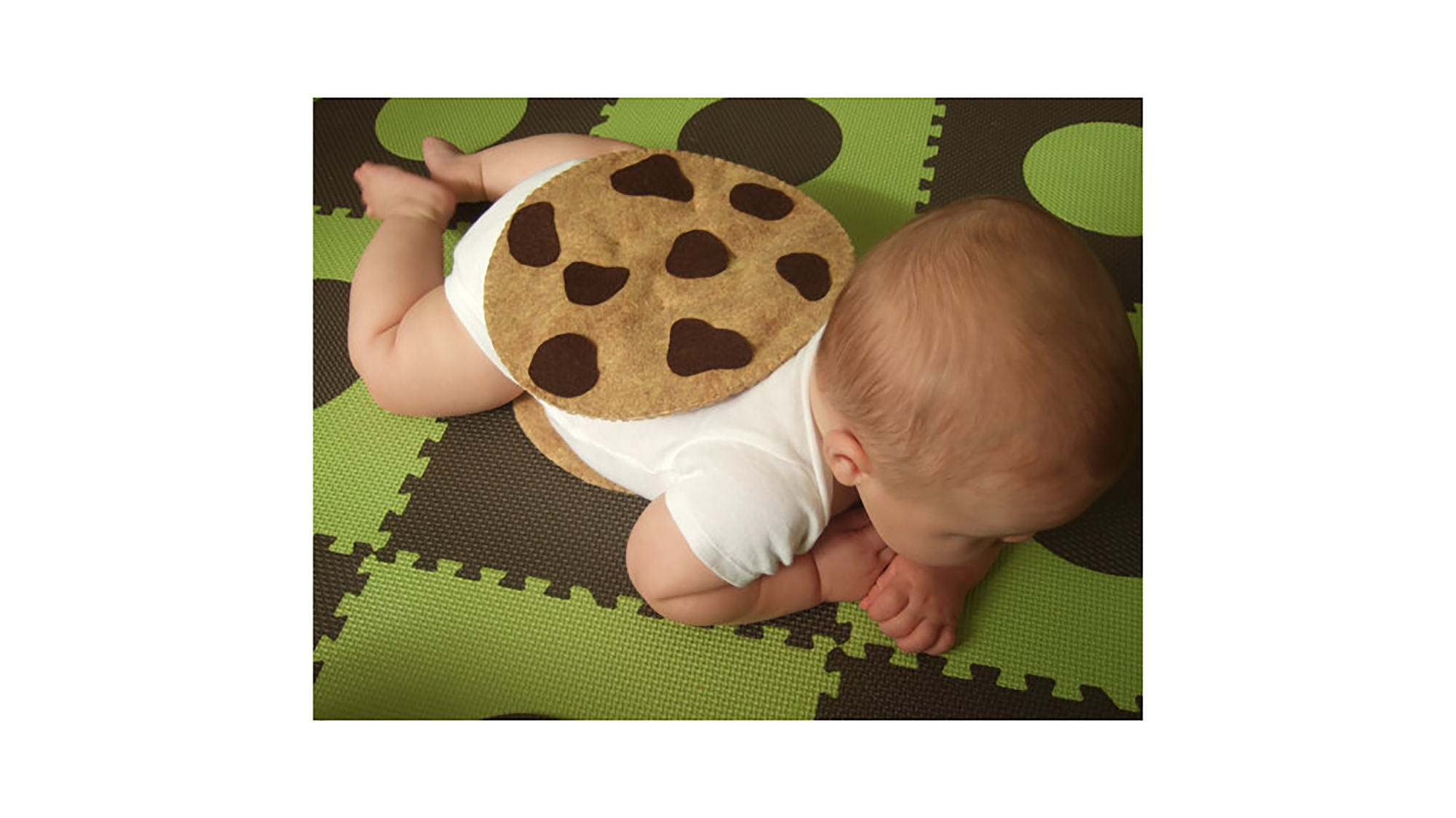 Chocolate Chip Cookie Sandwich baby Halloween costume