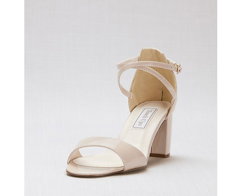 Nine West Carly 3 Crisscross Strap Mid-Heel Sandals