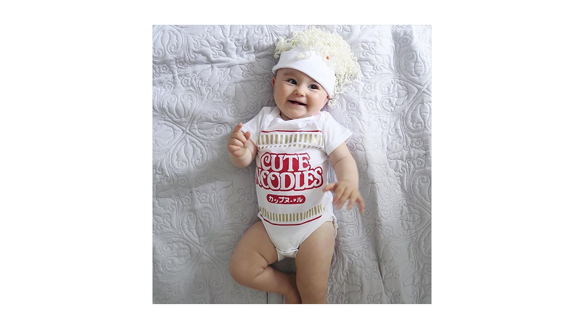 Cup of Noodles baby Halloween costume
