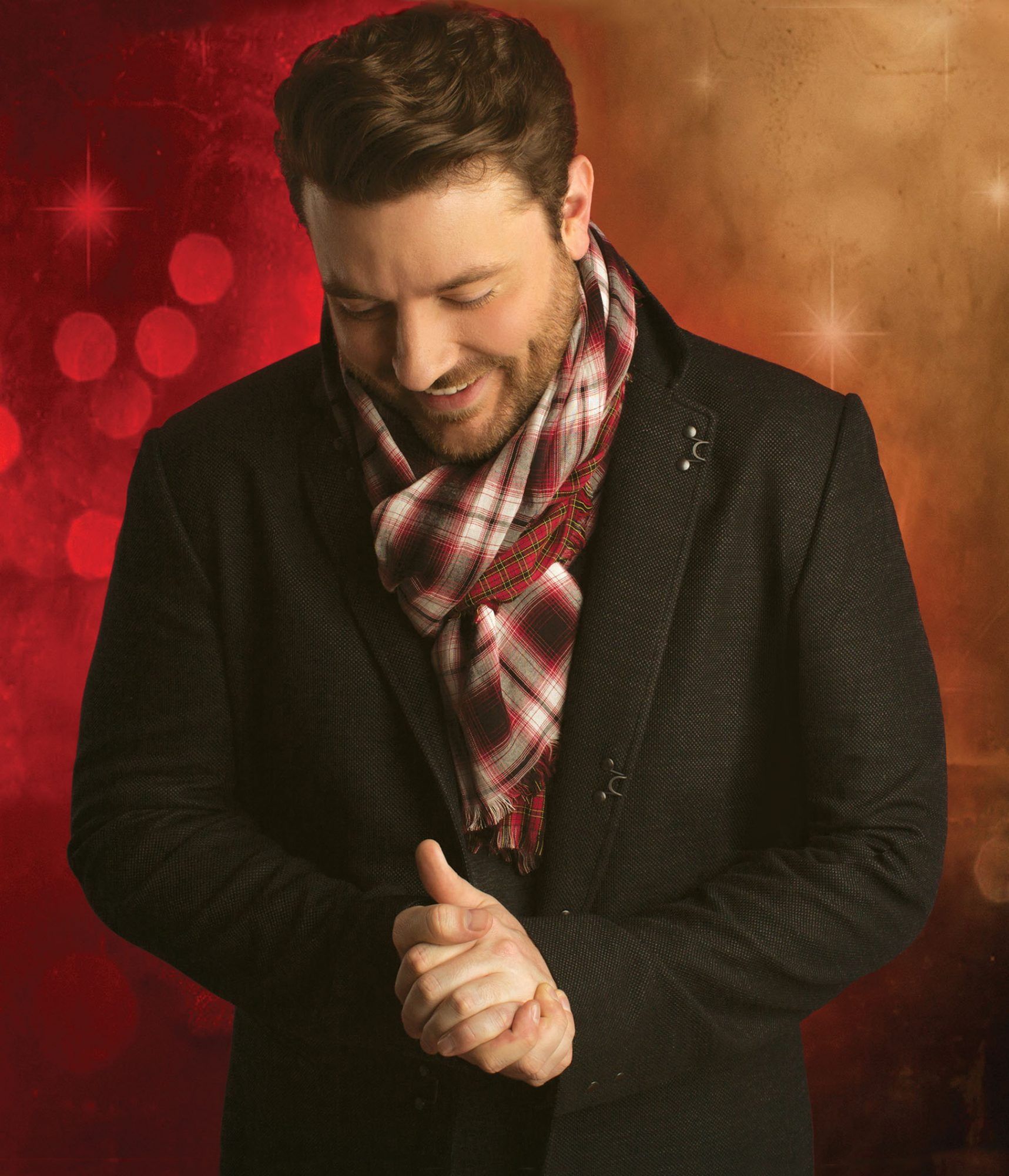 Chris Young Christmas Album Cover