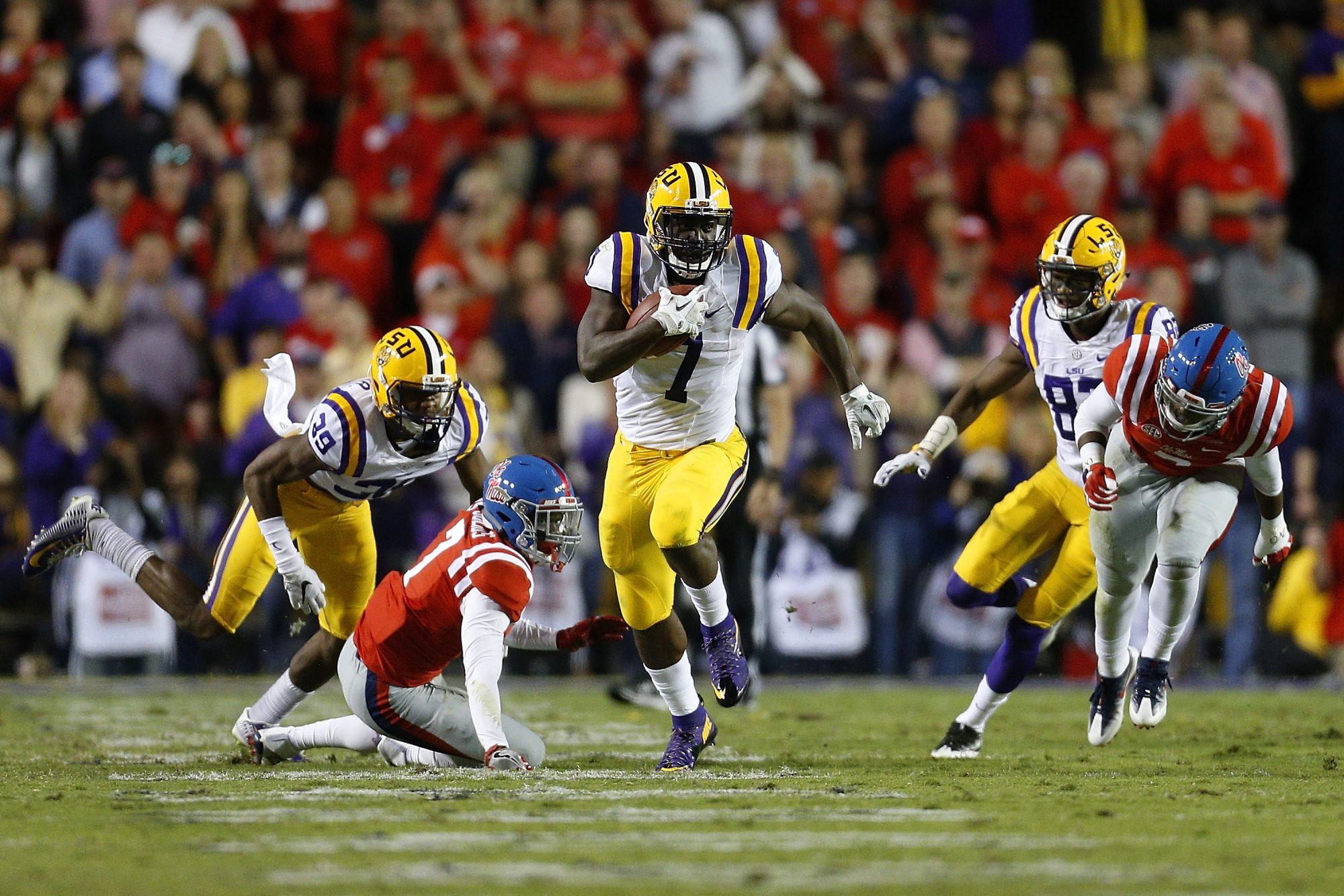 LSU vs. Ole Miss