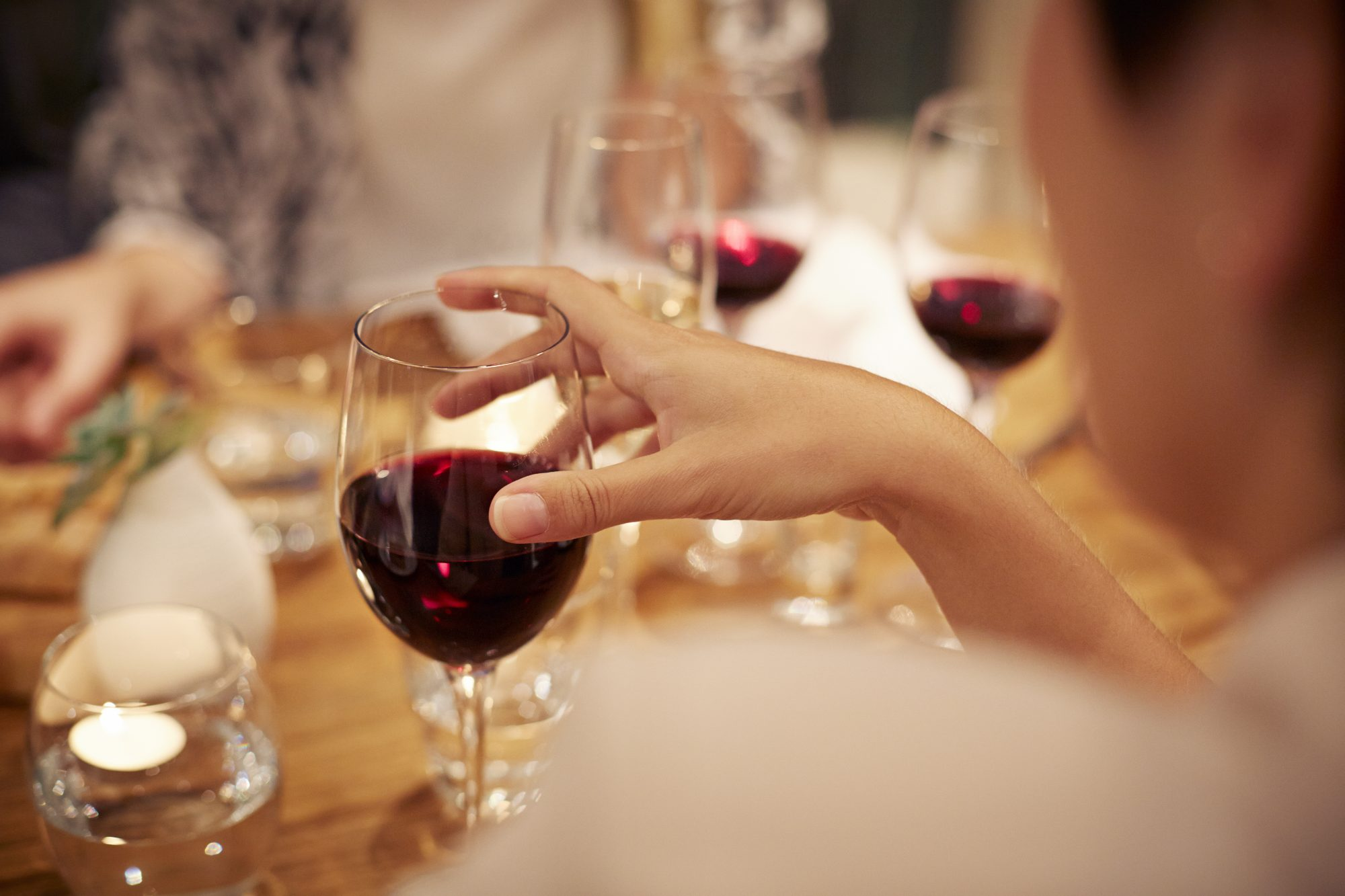 Red Wine with Dinner
