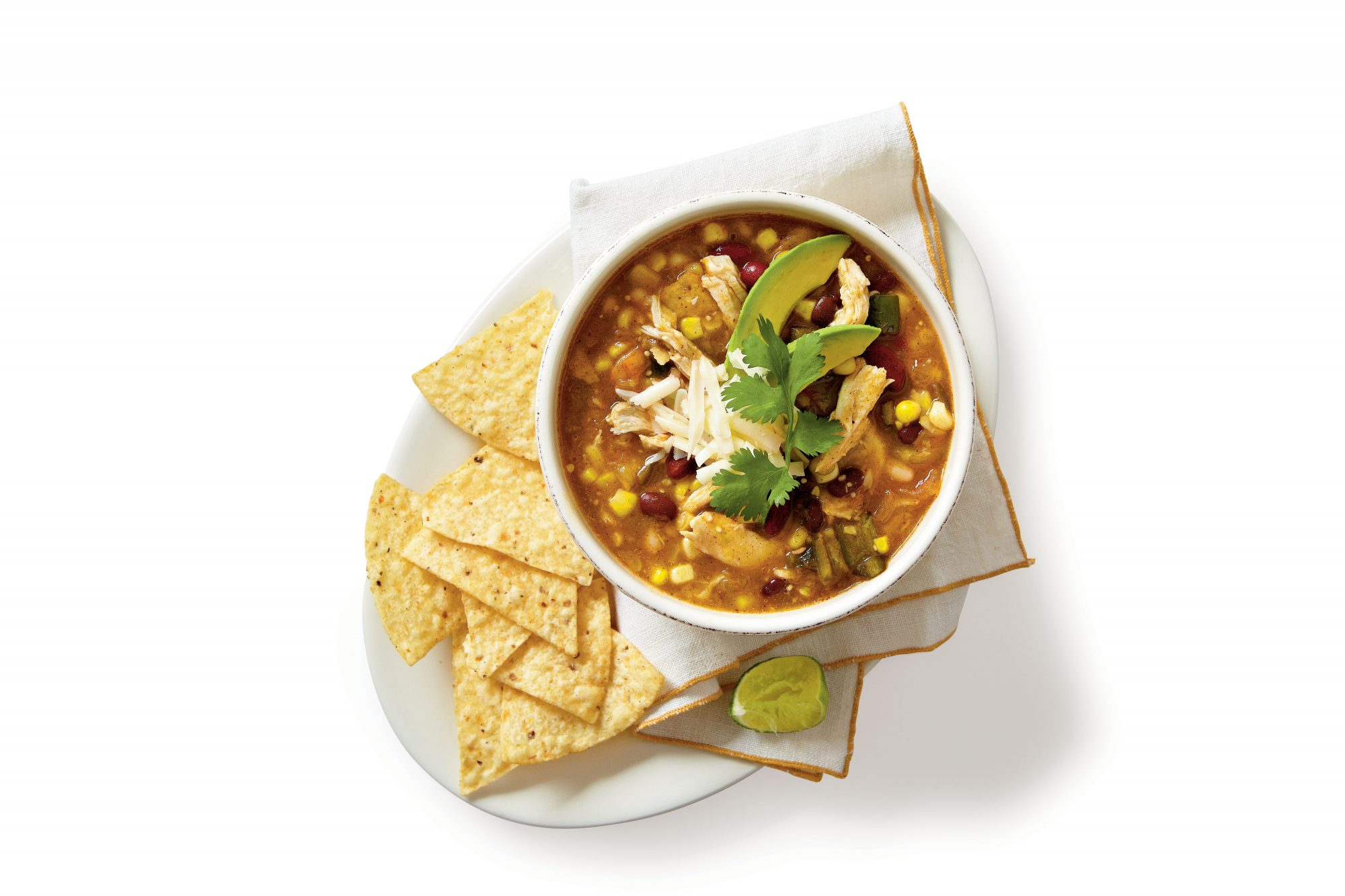 Chicken Soups Chicken-and-Three-Bean Chili Verde