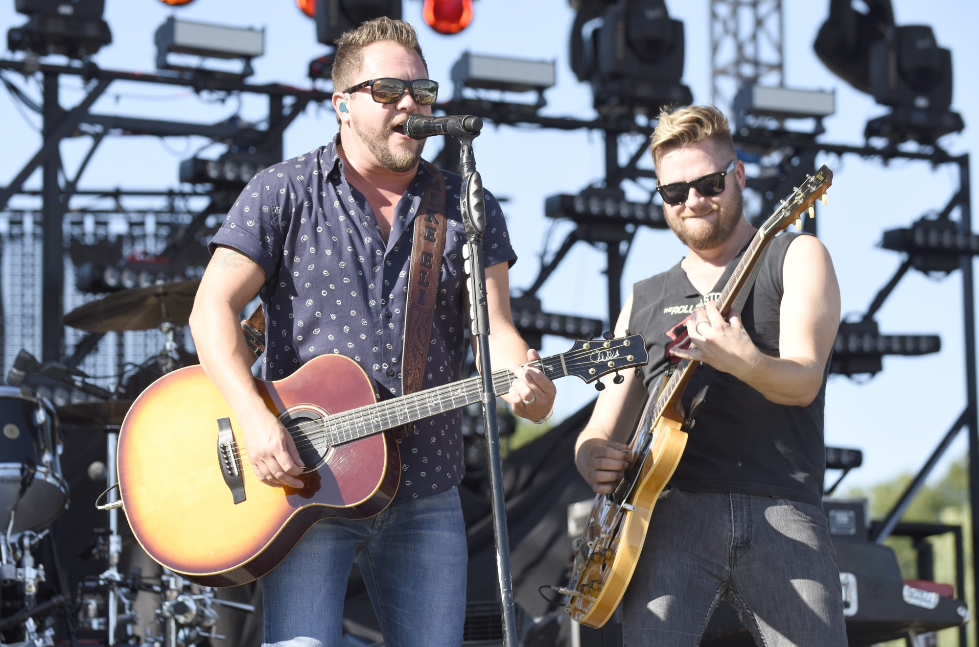 Getty Eli Young Band Performing