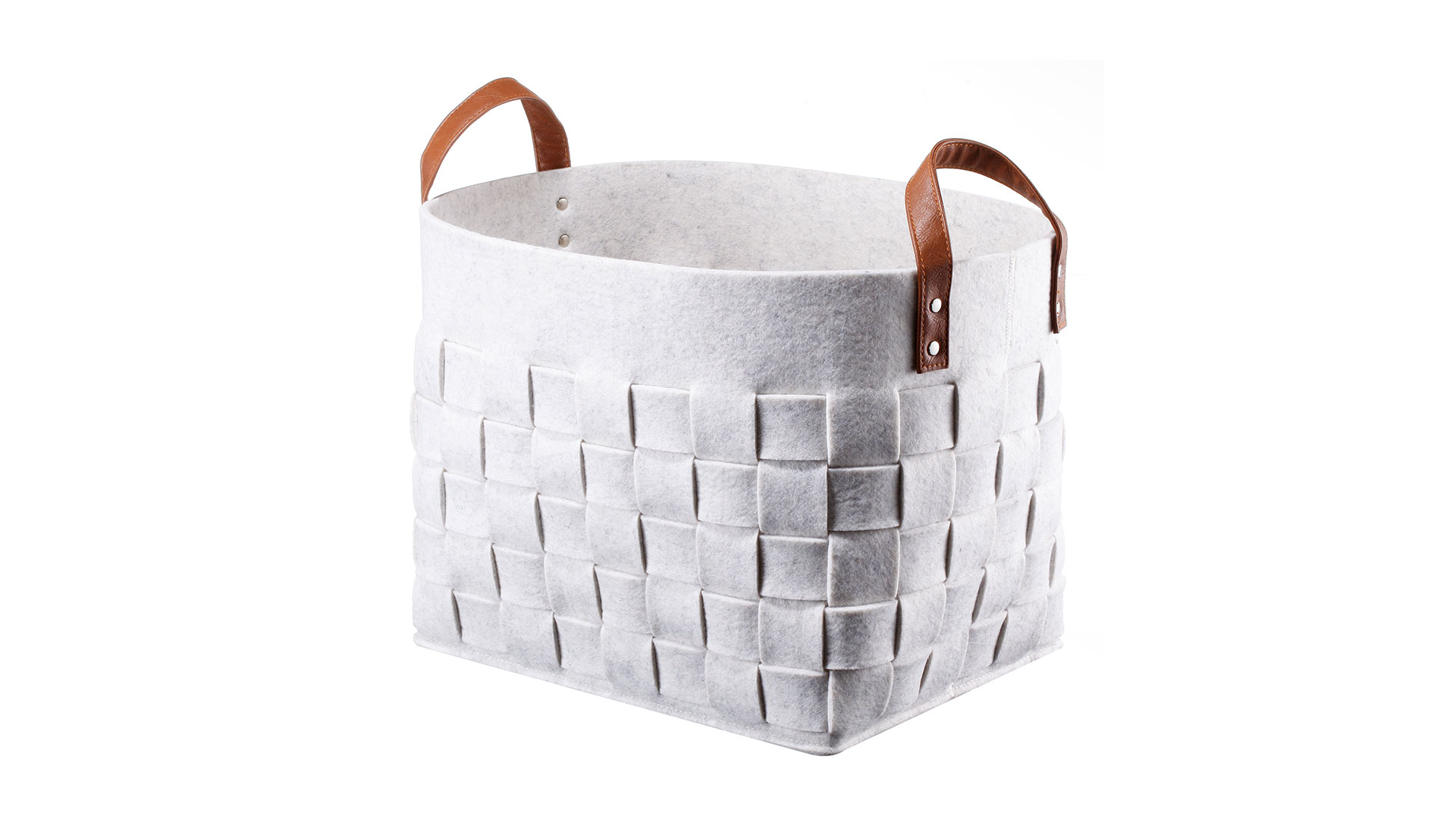 Decorative Felt Basket