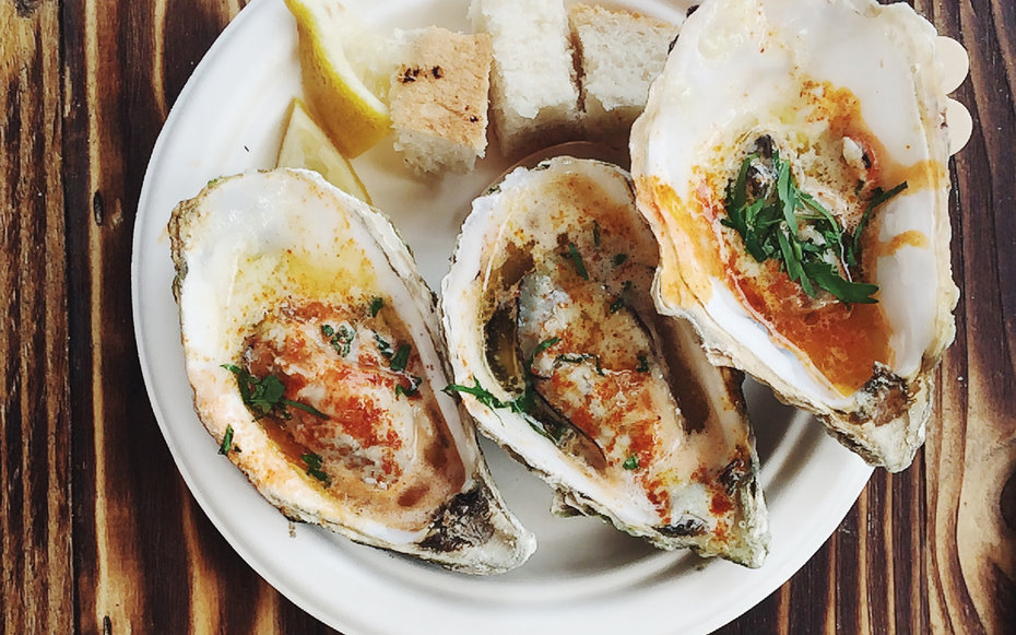 Broiled Oysters at Casamento's