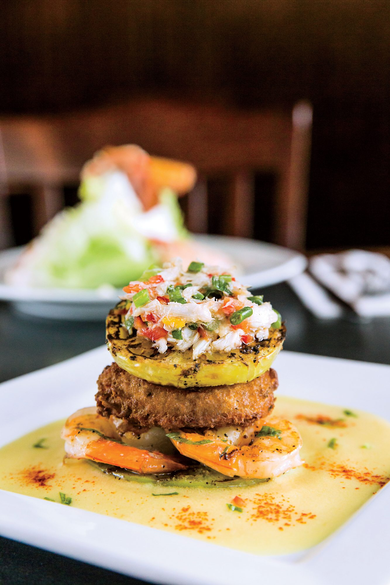 Crab Cake Remoulade from The Landing in Natchitoches, LA