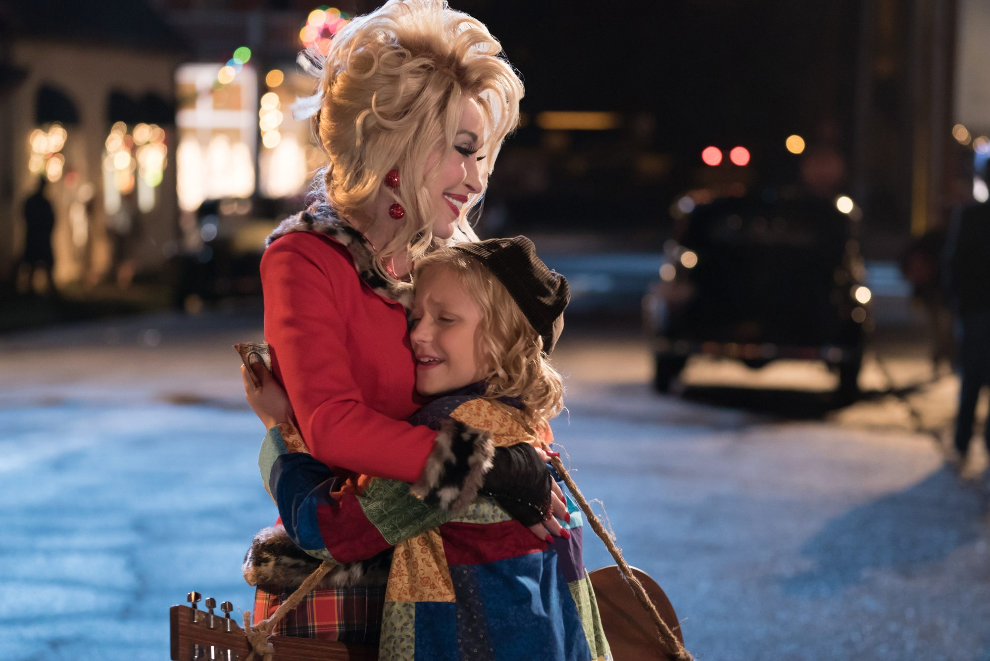 Dolly Parton in Christmas of Many Colors Movie