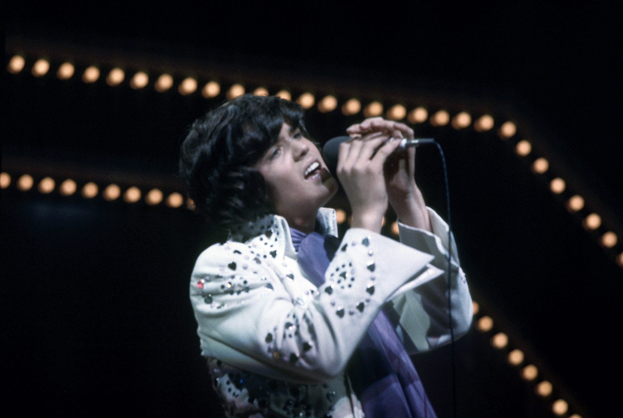 Donny Osmond Performing at the London Palladium