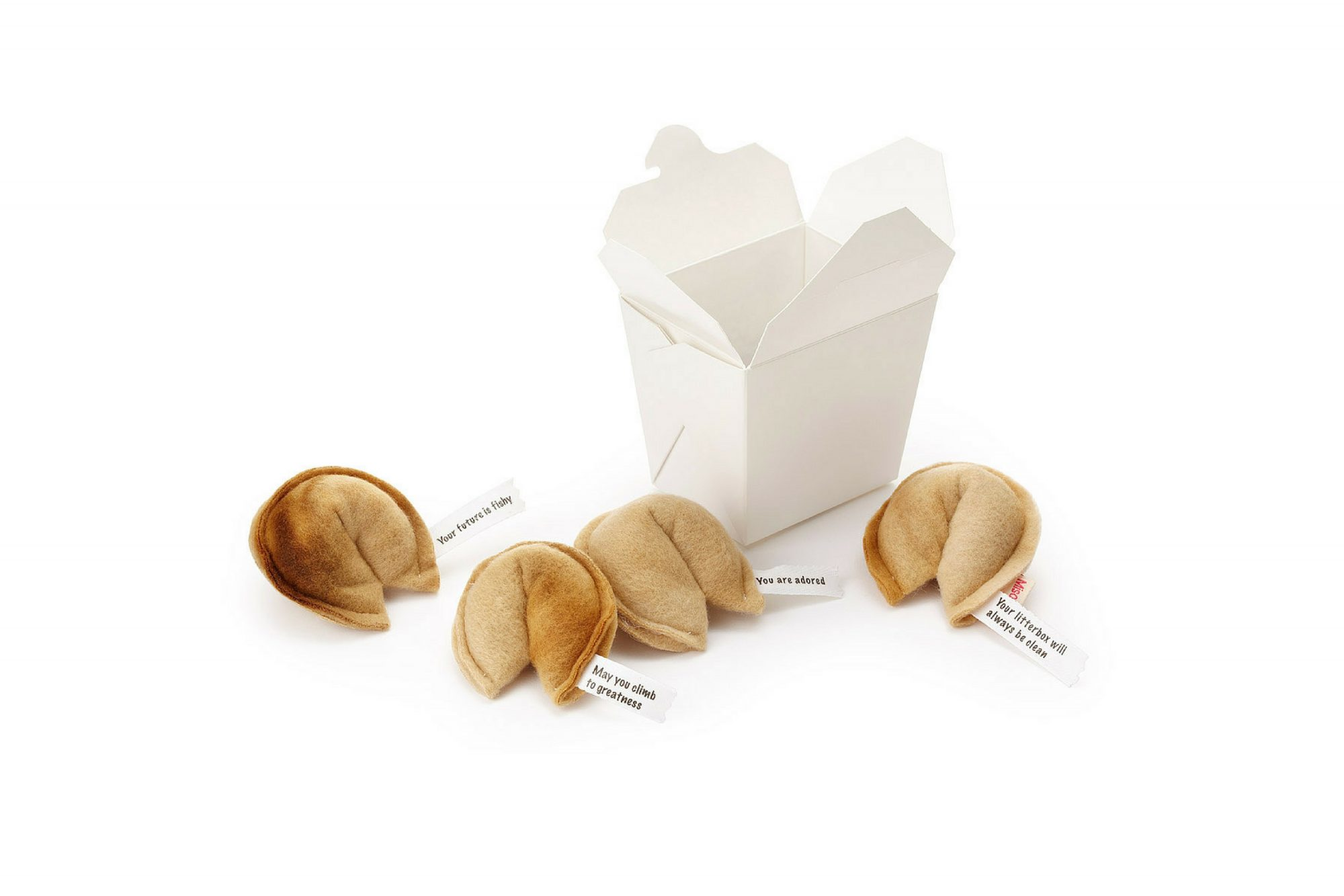 Gift Guide Pets Feline Fleece Fortune Cookies