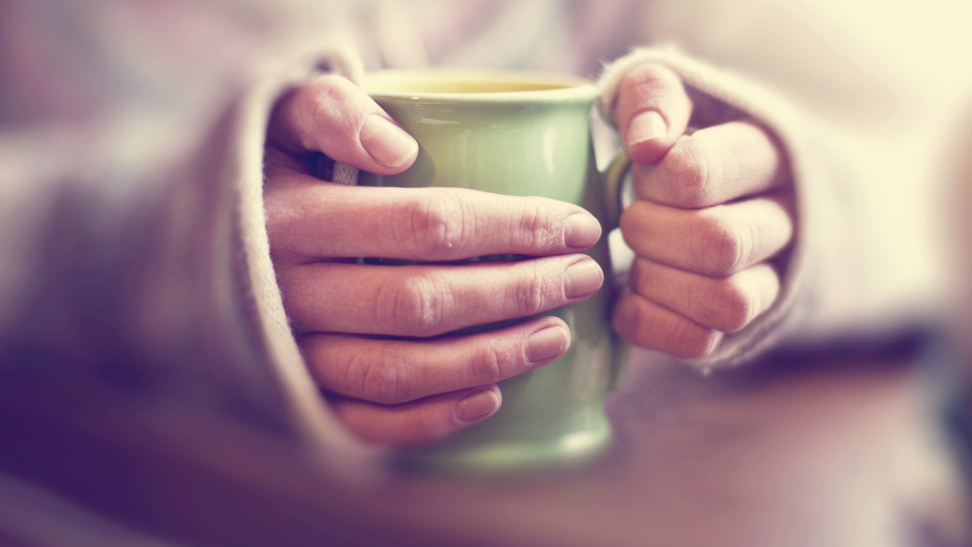 Cozy with Coffee Cup