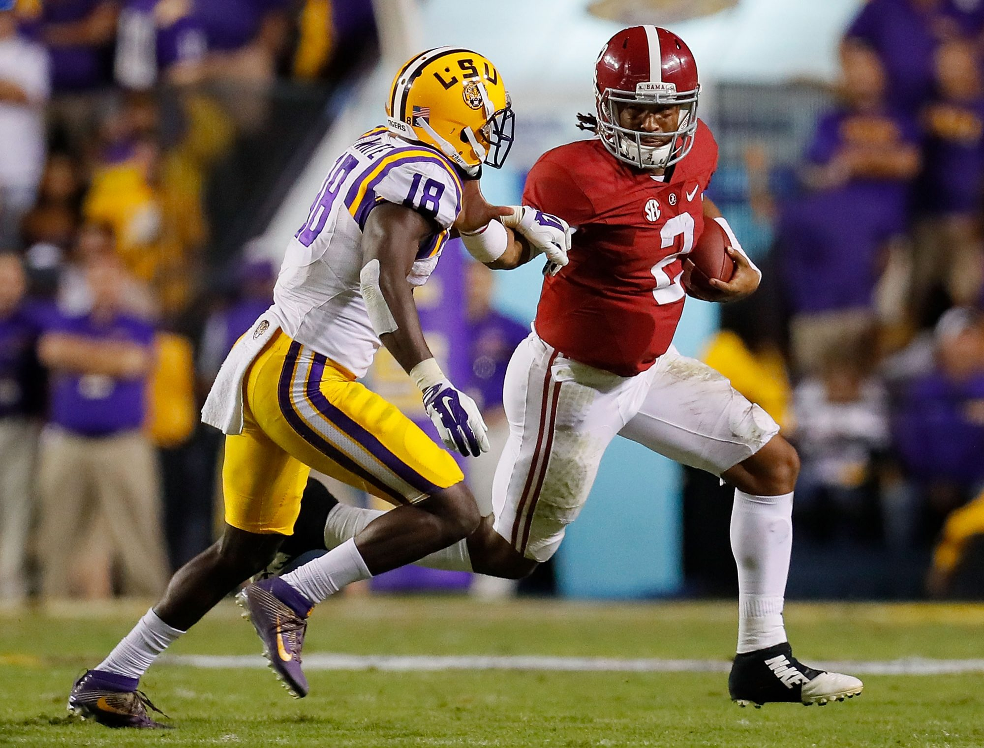 LSU vs. Alabama