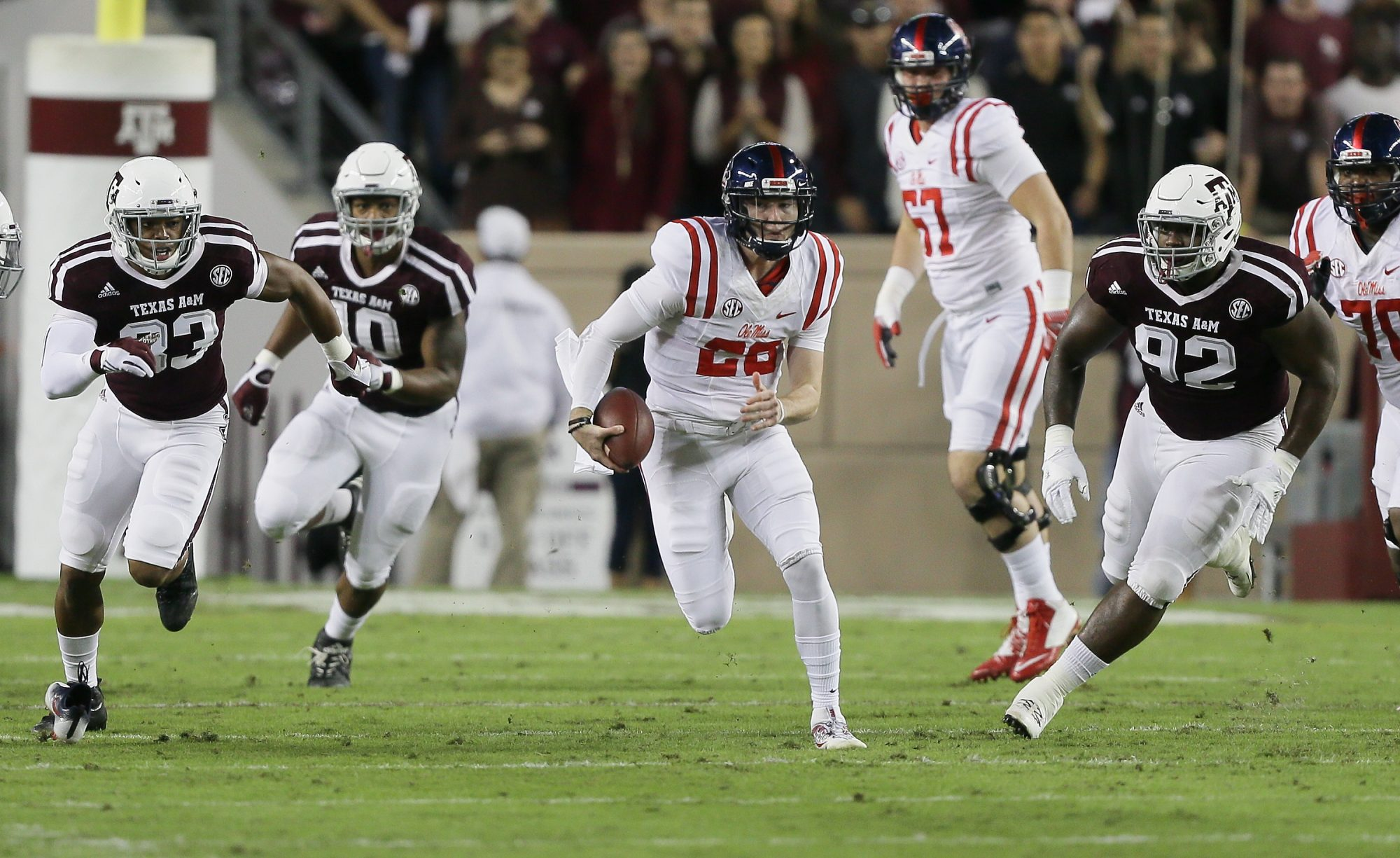 Texas A&M vs. Ole Miss