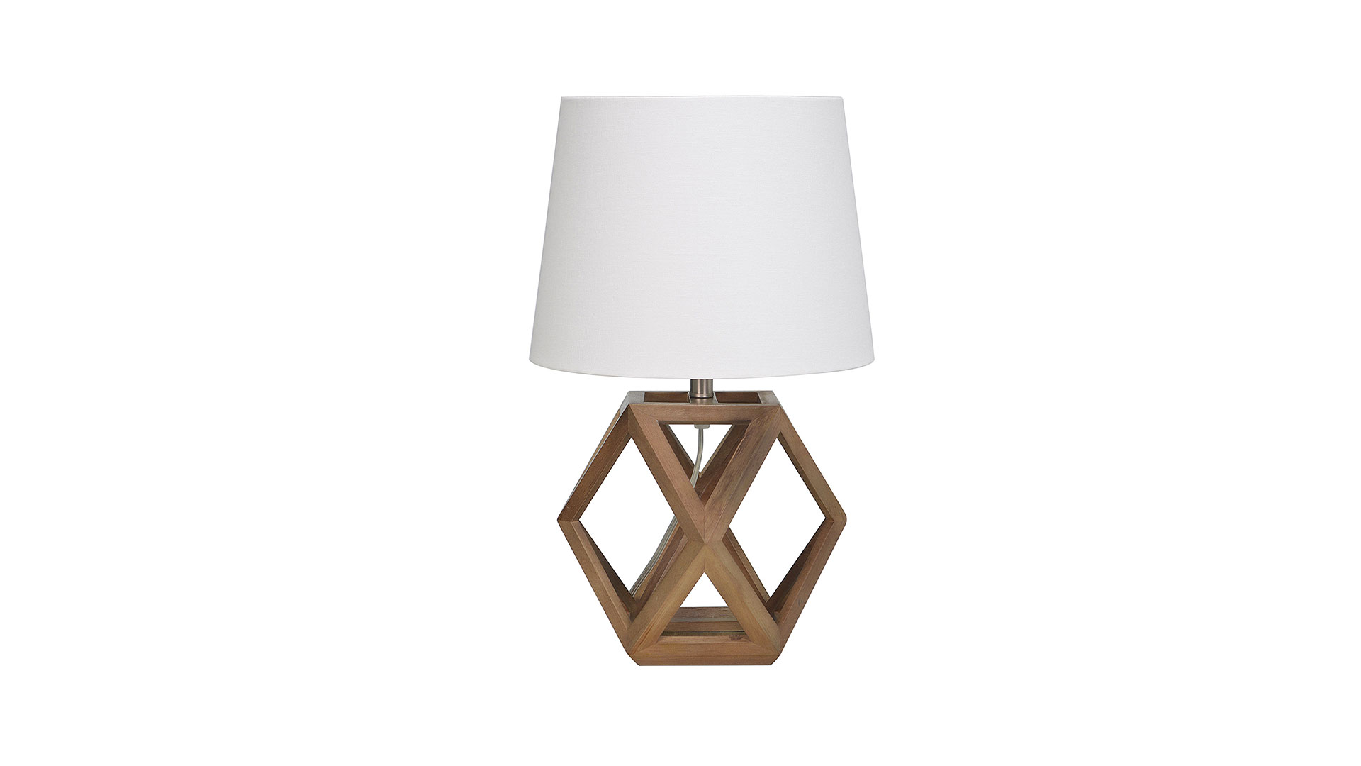 Geometric Accent Lamp